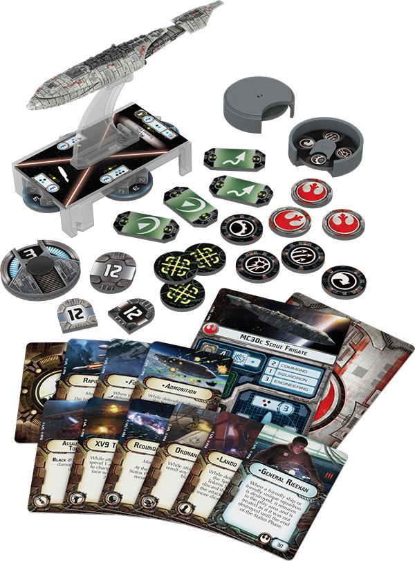 Star Wars Armada: MC30c Frigate Expansion Pack