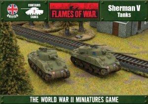 Sherman V Tanks