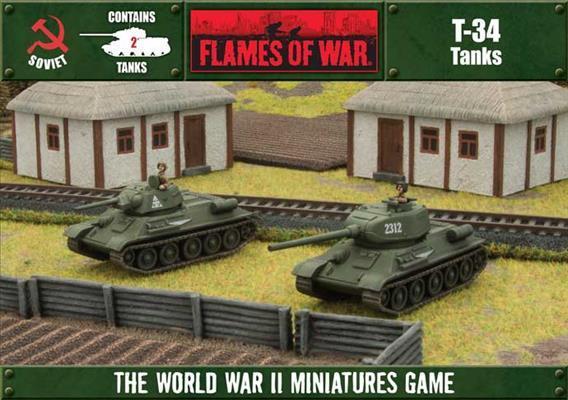 T-34 Tanks