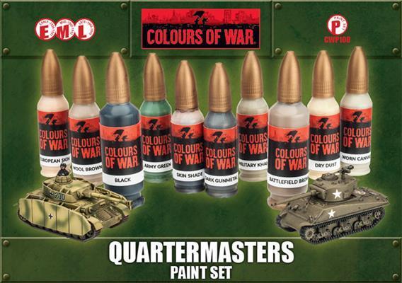 Quartermasters Paint Set