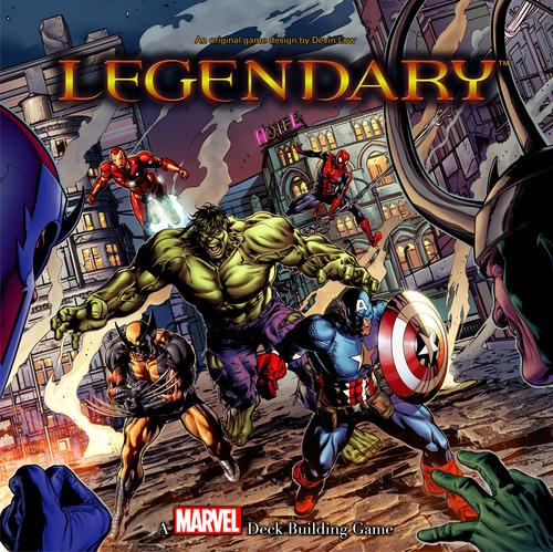 Legendary: Marvel Deck Building