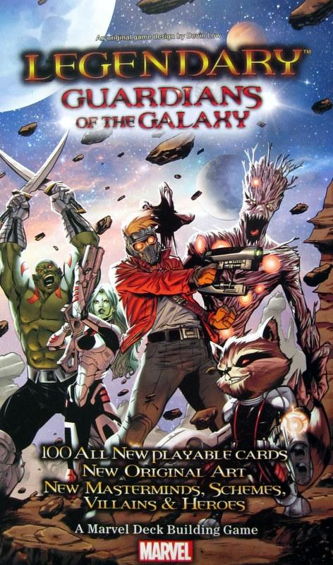 Legendary: Guardians of the Galaxy Exp