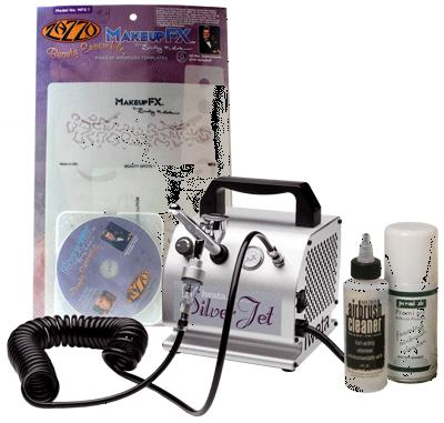 Iwata Mobile Cosmetic Kit with Silver Jet