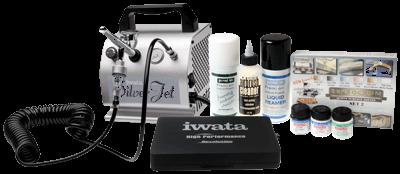 Iwata ScaleModeller kit with Silver Jet