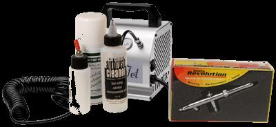 Iwata Mobile Spray Tanning Kit with Silver Jet