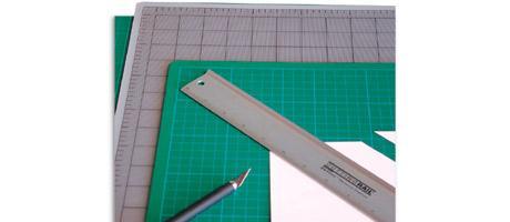 Artool Cutting Mat 22x30cm Green or Grey/Black