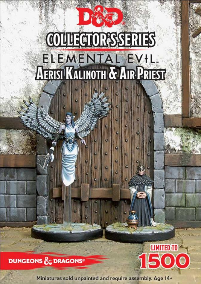 D&D: Elemental Evil: Aerisi Kalinoth & Air Priest