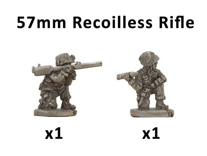 Parachute M18 57mm Recoiless Rifle