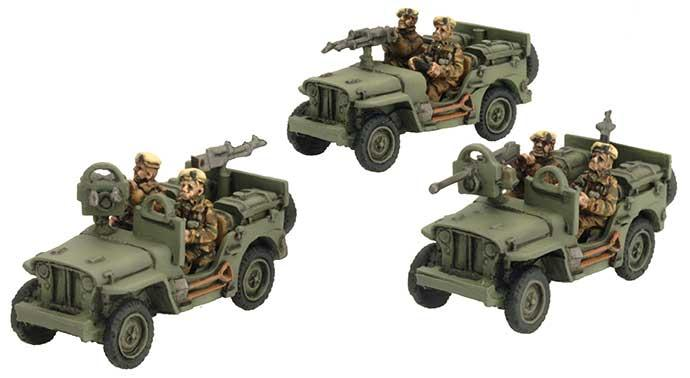 SAS Jeep (Europe)
