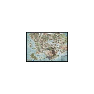 D D Forgotten Realms World Map Vinyl Campaign Map 30 X 42