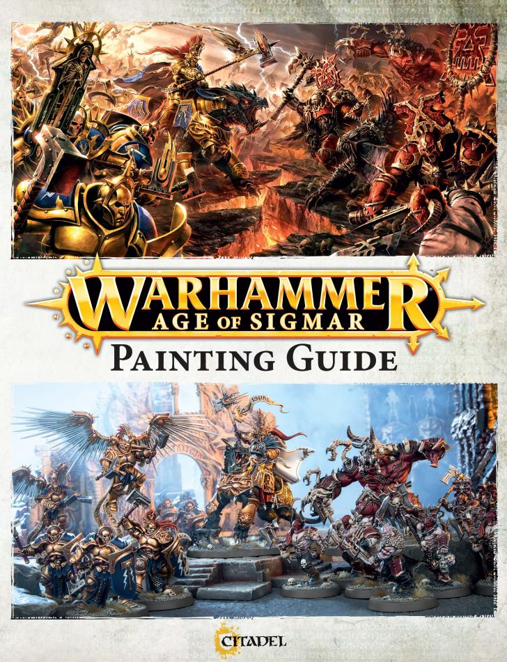 How to Paint: Age of Sigmar (English)