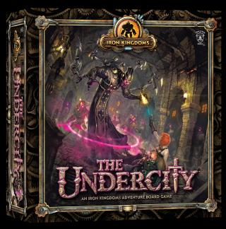 Iron Kingdoms Adventure Board Games Undercity