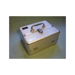 Half Size Aluminum Case Silver (40 Troops / P&P)
