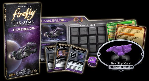 Firefly the Board Game - Esmeralda Ship Expansion