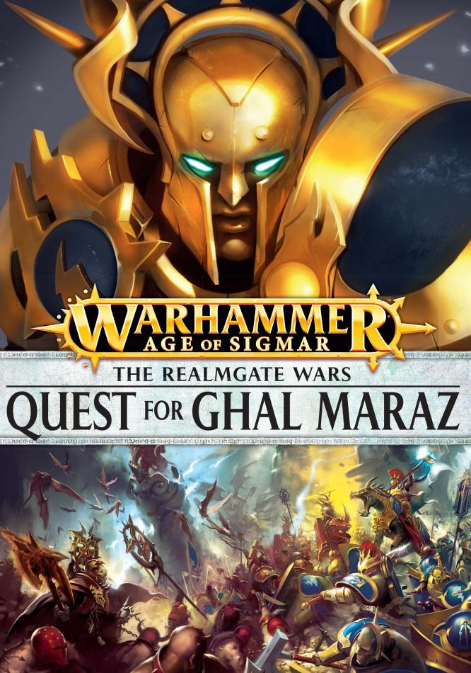 The Realmgate Wars 1: The Quest For Ghal Maraz (English)
