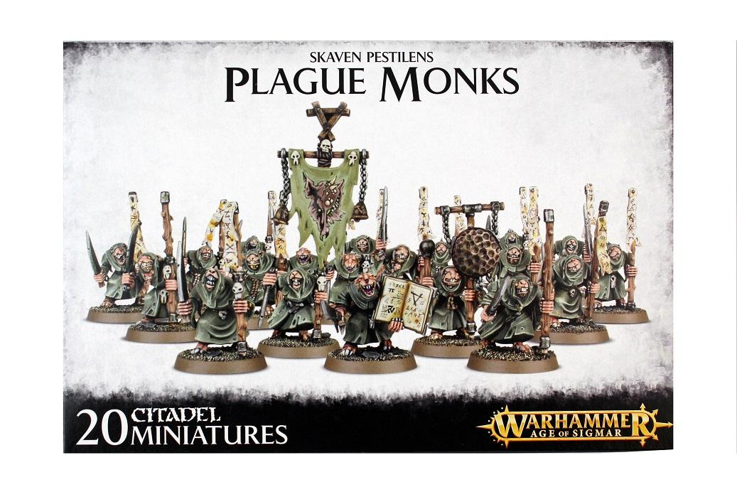 Skaven Pestilens Plague Monks