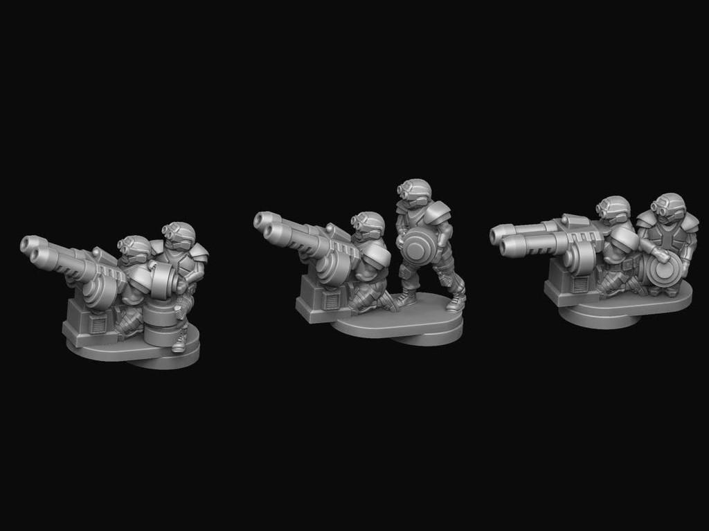 Legionnaire Flak Teams (UCM)