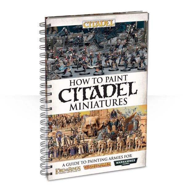 How To Paint Citadel Miniatures (English)