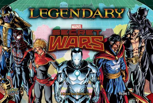 Legendary: Secret Wars Exp