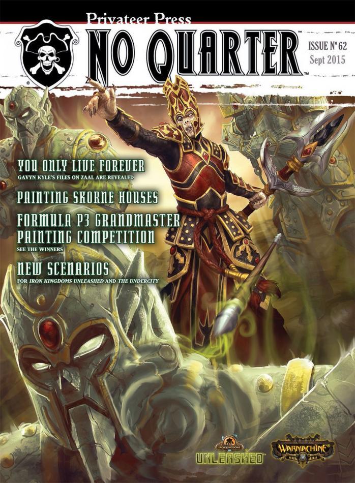 No Quarter Magazine #62 September 2015