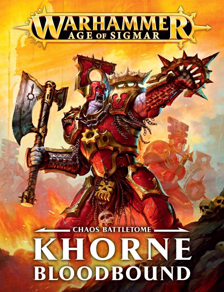 Battletome: Khorne Bloodbound (English)