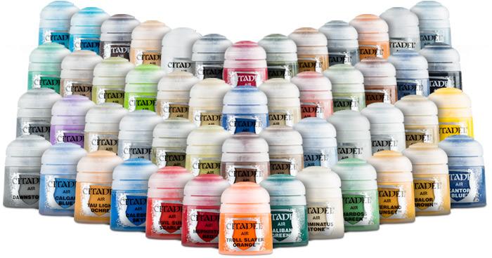 Citadel Air Bundle - All Paints