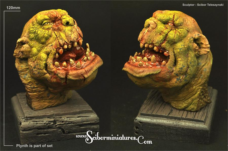 Orc - total height 105 mm