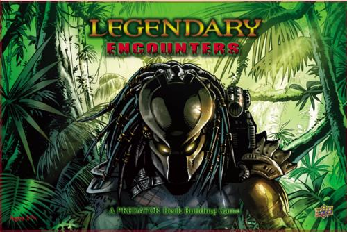 Legendary Encounters: Predator Deck Building Game