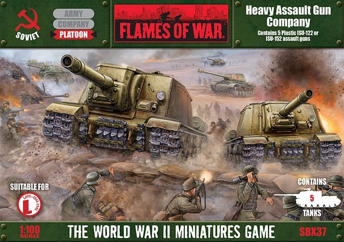 Heavy Assault Gun Company (Plastic)