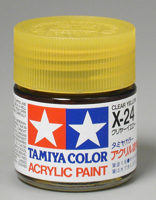 X-24 Tamiya Clear Yellow
