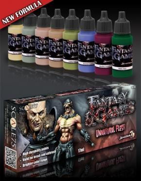 Fantasy & Games: Unnatural Flesh Paint Set