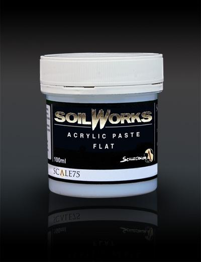 Soil Works: Acrylic Paste Flat