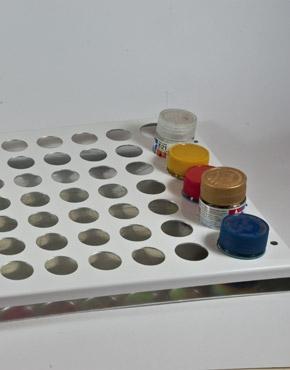 Scale 75 - Aluminium Large Paint Tray (70 Paints)