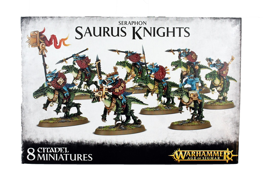 Seraphon Saurus Knights - New Warhammer Age Of Sigmar