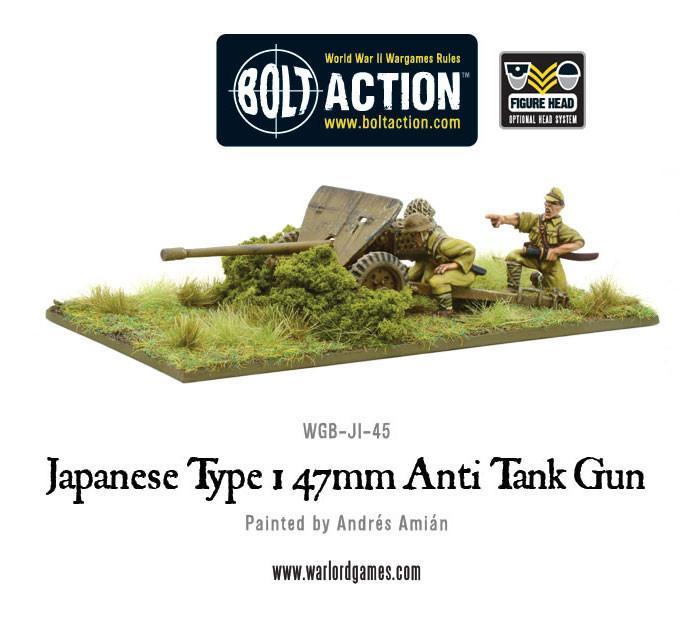 Japanese Type 47mm Anti Tank Gun