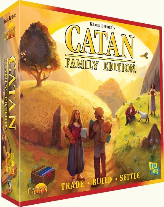 Settlers of Catan Family Ed
