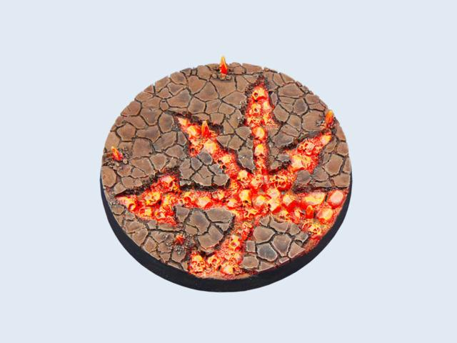 Chaos Waste Bases, Round 60mm (1)