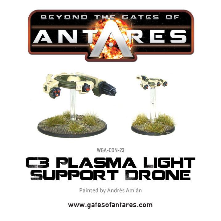 Concord C3 Plasma Light Support Drone