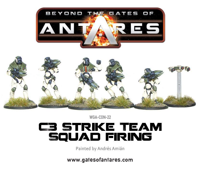 Concord C3 Strike Squad Firing