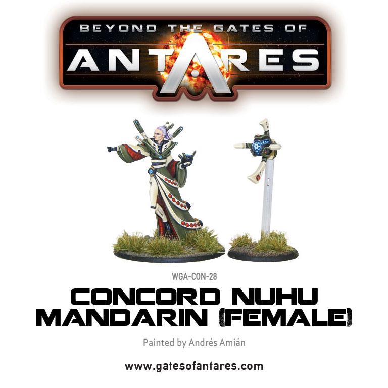 Concord Nu-Hu Mandarin (Female)