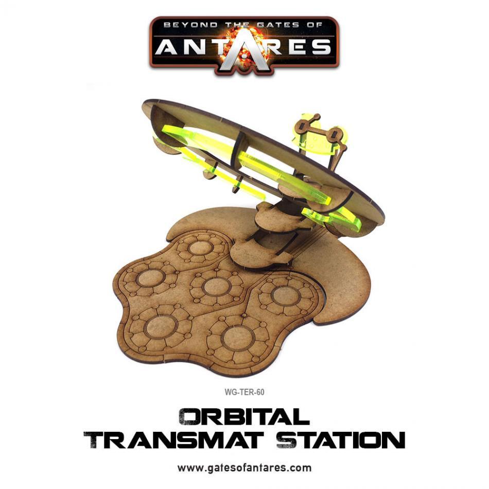Orbital Transmat Station