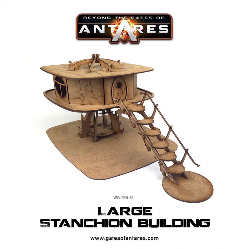 Large Stanchion Building