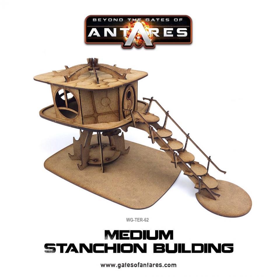 Medium Stanchion Building