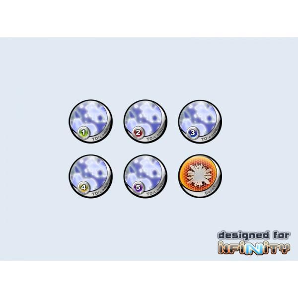 Infinity Tokens TOCamo Blue (6)