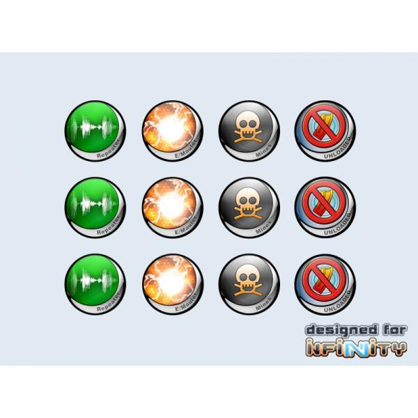 Infinity Tokens Deployables #1 (12)