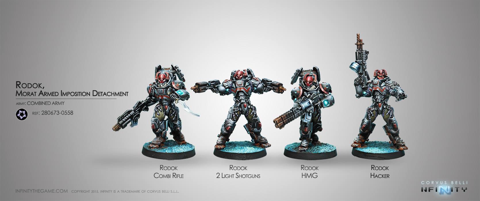 Rodok, Armed Imposition Detachment (Box set of4)
