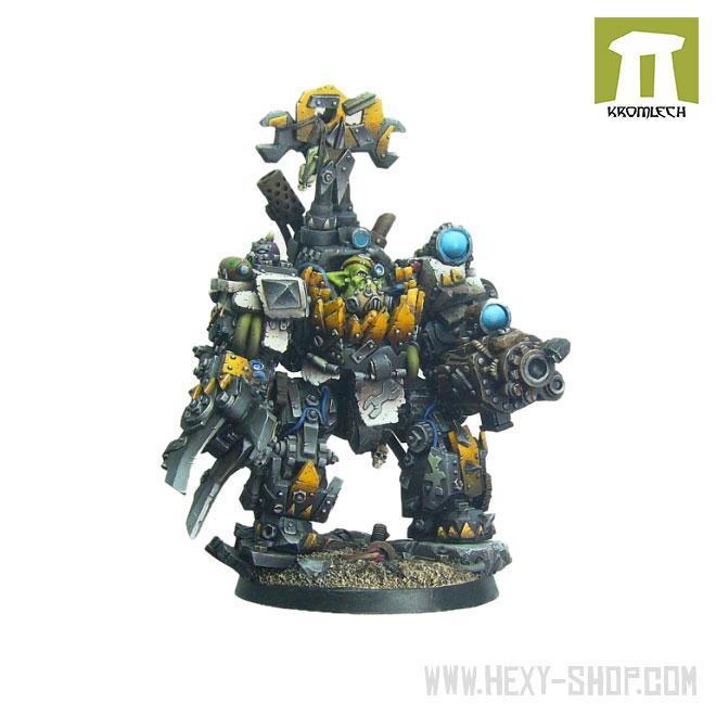 Orc Mech-Boss in Kustom Mecha-Armour (1)