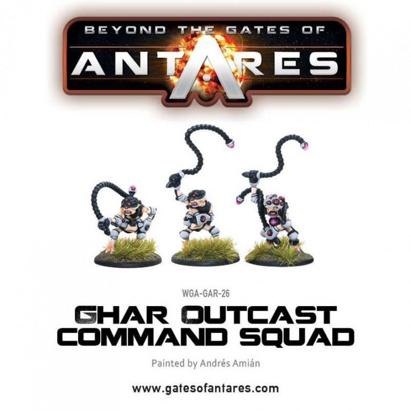 Ghar Outcast command squad
