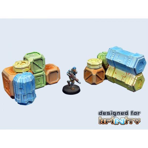 Cargo Crates set 1 (2)
