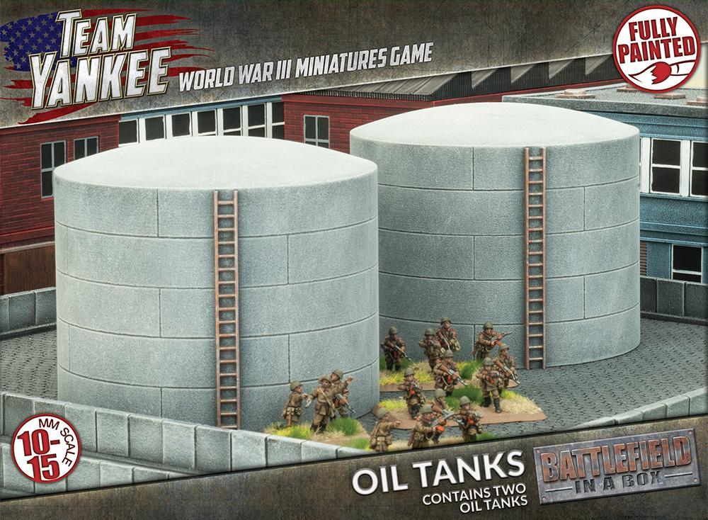 Oil Tanks (x2)